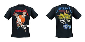 METALLICA - T-SHIRT, DAMAGE INC