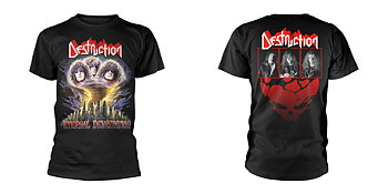 DESTRUCTION - T-SHIRT, ETERNAL DEVASTATION