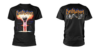 DESTRUCTION - T-SHIRT, INFERNAL OVERKILL