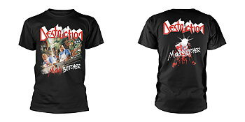 DESTRUCTION - T-SHIRT, MAD BUTCHER