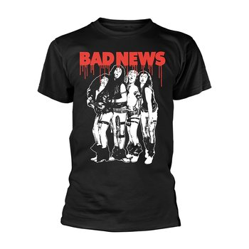 BAD NEWS - T-SHIRT, BAND (BLACK)