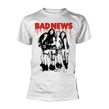 BAD NEWS - T-SHIRT, BAND (WHITE)