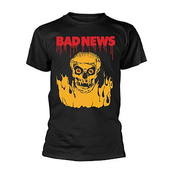 BAD NEWS - T-SHIRT, FIRESKULL