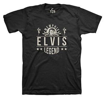 ELVIS PRESLEY - T-SHIRT, LEGEND