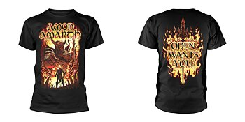 AMON AMARTH - T-SHIRT, ODEN WANTS YOU