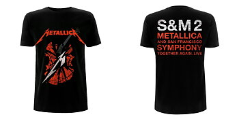 METALLICA - T-SHIRT, S&M2 SCRATCH CELLO