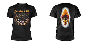 RUNNING WILD - T-SHIRT, BLACK HAND INN