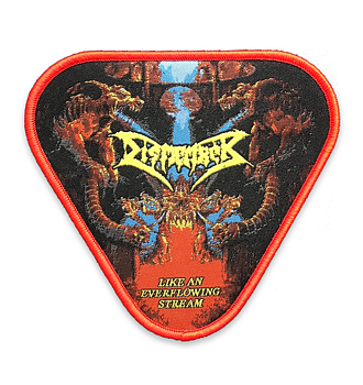 DISMEMBER - PATCH, EVERFLOWING STREAM (RED)