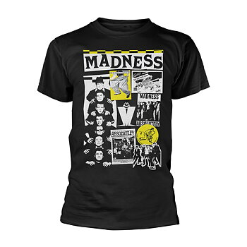 MADNESS - T-SHIRT, CUTTINGS 2 (BLACK)