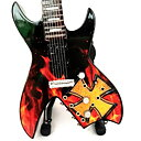 Mini guitar: James Hetfield - Brown Cross