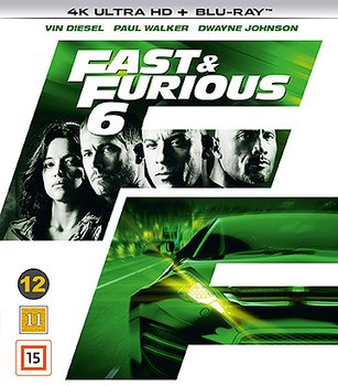 Fast & Furious 6 (4K Ultra HD Blu-ray)