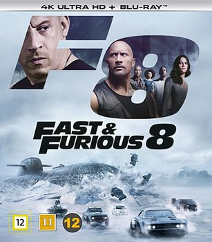 Fast & Furious 8 (4K Ultra HD Blu-ray)