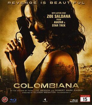 Colombiana (Blu-ray) (Begagnad)