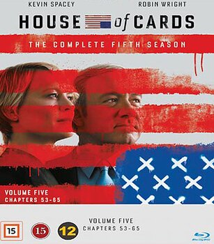 House of Cards - Säsong 5 (Blu-ray)