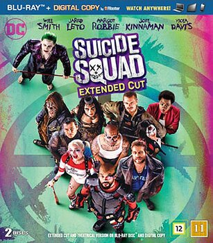 Suicide Squad: Extended cut (Blu-ray) (Begagnad)