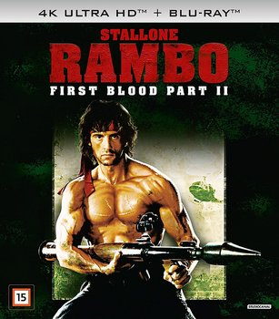 First Blood Part II (4K Ultra HD Blu-ray + Blu-ray)