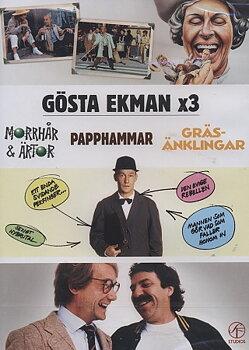 Morrhår & Ärtor / Från Och Med Herr Gunnar Papphammar / Gräsänklingar (2-disc)