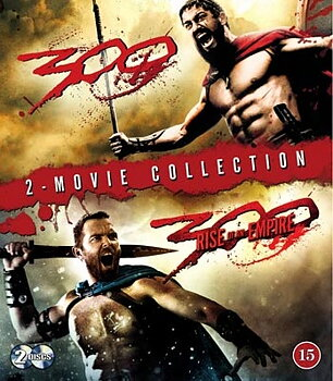 300 & 300: Rise of an Empire  (2-disc) (Blu-ray) (Begagnad)