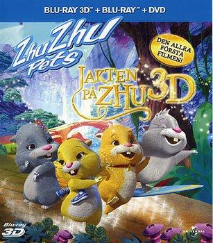 Zhu Zhu Pets - Jakten På Zhu (Real 3D + Blu-ray + DVD)