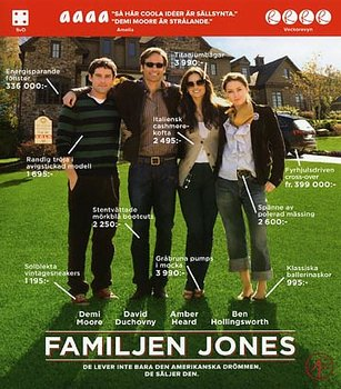 Familjen Jones (Blu-ray)