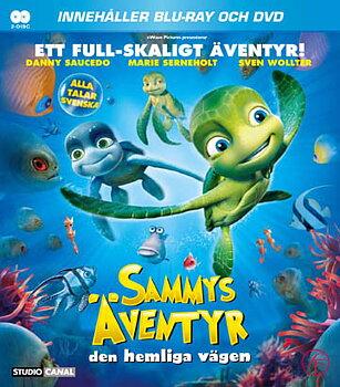 Sammys Äventyr - Den Hemliga Vägen (Blu-ray + DVD)
