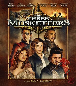 Three Musketeers (2011) (Blu-ray)