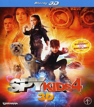 Spy Kids 4 (Real 3D + Blu-ray)