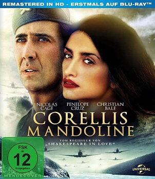 Kapten Corellis Mandolin (ej svensk text) (Blu-ray)