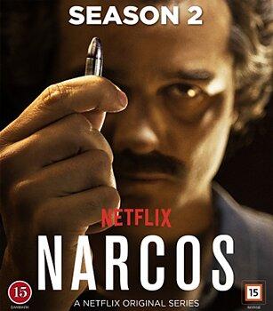 Narcos - Säsong 2 (Blu-ray) (Begagnad)