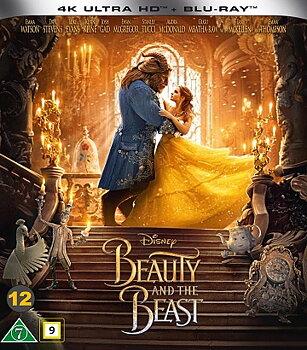 Skönheten Och Odjuret (4K Ultra HD Blu-ray + Blu-ray)