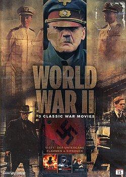 Andra Världskriget - 3 Klassiska Krigsfilmer (3-disc)