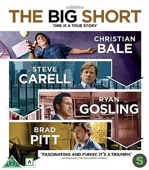 Big Short (Blu-ray) (Begagnad)