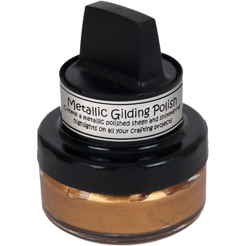 CRETAIVE EXPRESSION Cosmic Shimmer Metallic Gilding Polish Gold Treasure