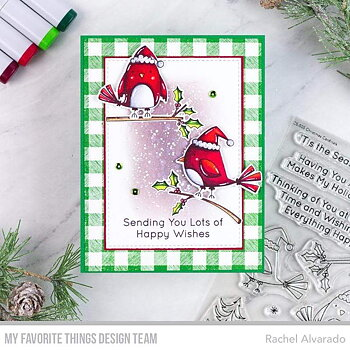 MY FAVORITE THINGS -Christmas Cardinals