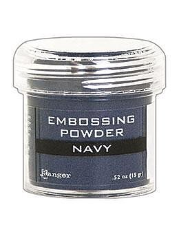 RANGER Embossing Powder Navy Metallic