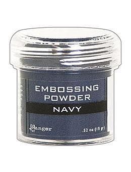 RANGER Embossing Powder Navy Metallic