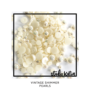 STUDIO KATIA-VINTAGE SHIMMER PEARLS