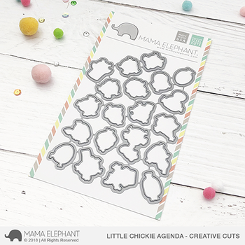 MAMA ELEPHANT -LITTLE CHICKIE AGENDA - CREATIVE CUTS