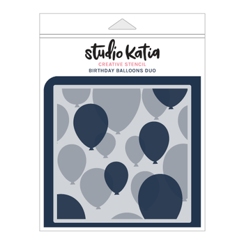 STUDIO KATIA-BIRTHDAY BALLOONS DUO