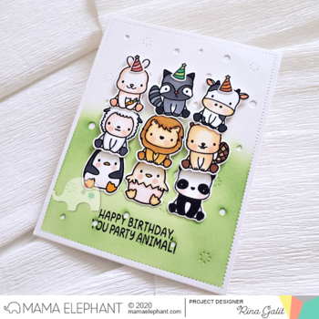 MAMA ELEPHANT-STACKABLE FRIENDS