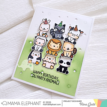 MAMA ELEPHANT-STACKABLE FRIENDS - CREATIVE CUTS