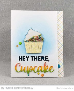 MY FAVORITE THINGS -Hey There, Cupcake Die-namics