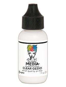 RANGER Dina Wakley Media Gesso Clear, 1oz 29 ML