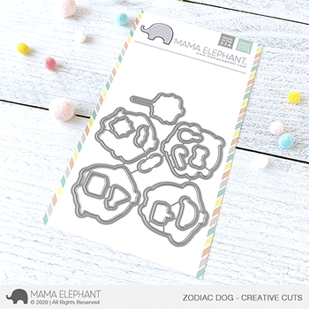 MAMA ELEPHANT-ZODIAC DOG - CREATIVE CUTS