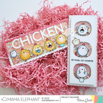 MAMA ELEPHANT-ZODIAC ROOSTER - CREATIVE CUTS