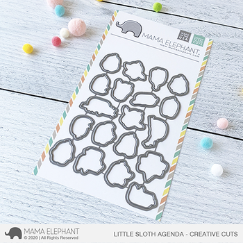 MAMA ELEPHANT-LITTLE SLOTH AGENDA - CREATIVE CUTS