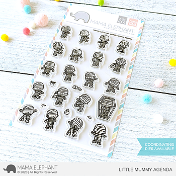 MAMA ELEPHANT- LITTLE MUMMY AGENDA