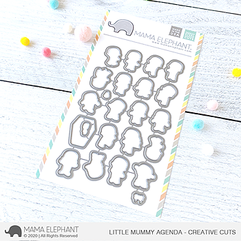 MAMA ELEPHANT- LITTLE MUMMY AGENDA- CREATIVE CUTS