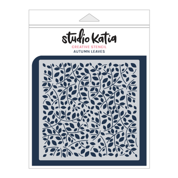 STUDIO KATIA-AUTUMN LEAVES STENCIL
