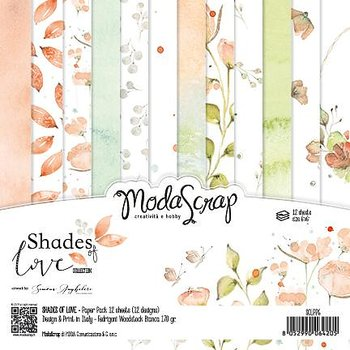 "MODASCRAP - PAPER PACK SHADES OF LOVE 6X6"""